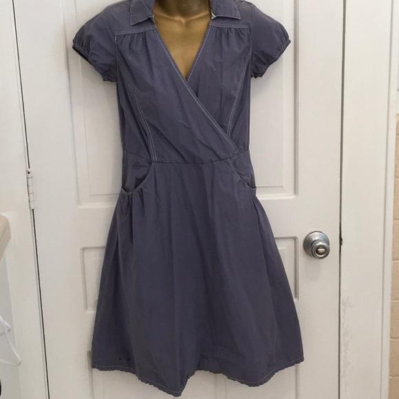 Converse Dresses & Skirts - Converse One Star Blue Short Sleeve Dress pockets